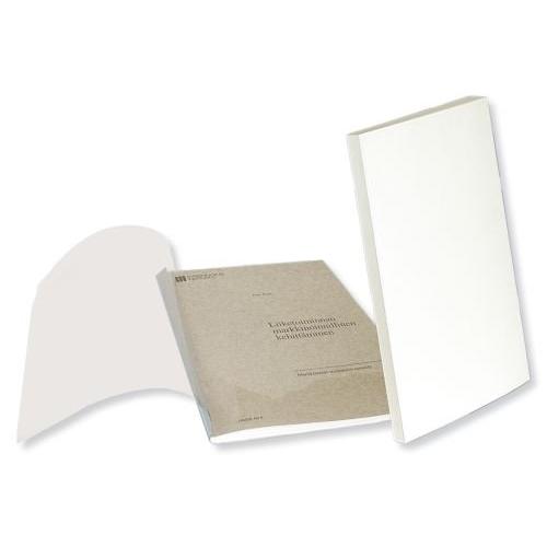 Desky Fastbind Standard pro lepenou vazbu bílá