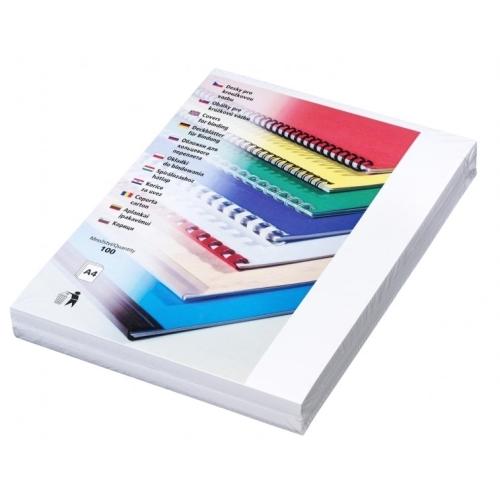 Desky Linen A4 bílé