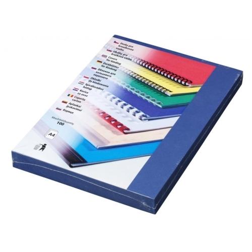 Desky Linen A4 tmavě modré