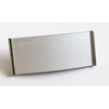 Jmenovka MGT 73 stříbrná