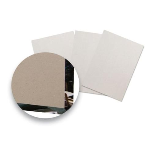 Kartonové přířezy z šedé lepenky pro A4 landscape