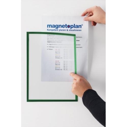 Magnetický rámeček Magnetofix A4 šedá (5ks)