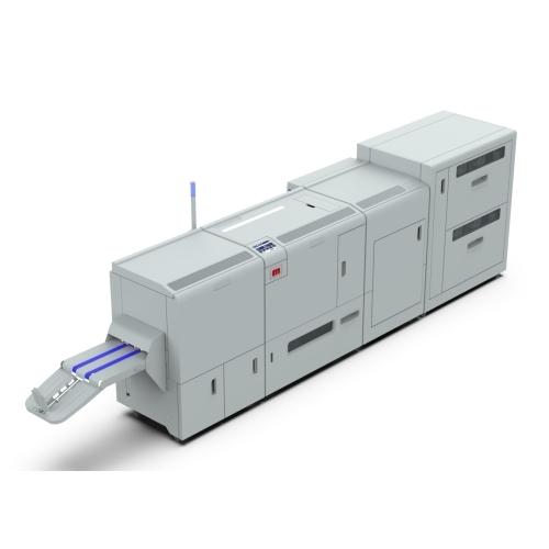 Morgana BM5035+FM5000+CF5000 Brožovací, zahraňovací a ořezový modul s asistenčním nakladačem