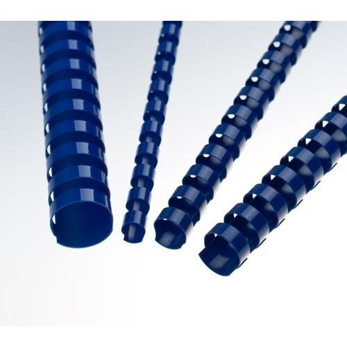 Plastové hřbety 25 modré