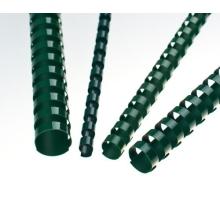 Plastové hřbety 25 zelené