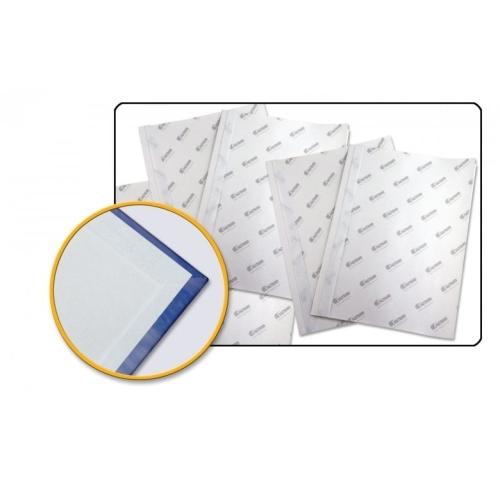 Samolepící předsádka pro šitou vazbu 203x203 mm bílá