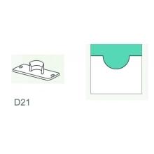 Vysekávací nůž půlkulatý D21 mm na kalendářové háčky